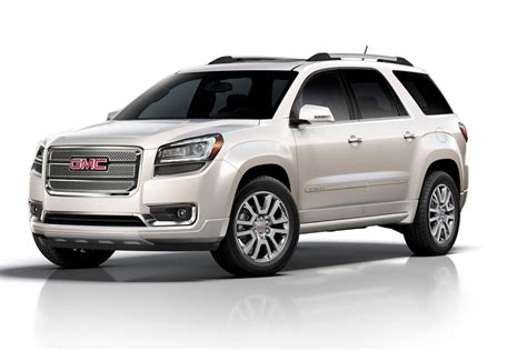 2014 gmc acadia reviews specs and prices cars