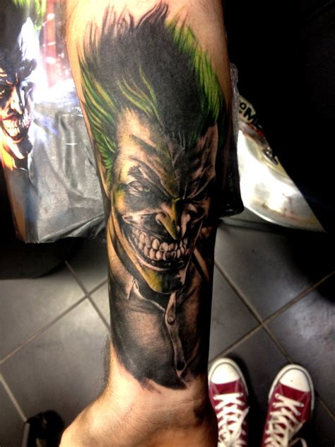 30 imposing joker tattoo designs amazing tattoo ideas