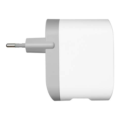 Square Dual Usb Car Charger 2 1a White Gold belkin dual usb wall charger 2 x 2 1a white