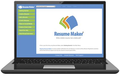 Resume Builder Software For Windows Write A Better Resume Resume Maker Individual Software