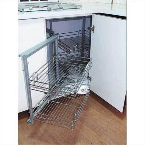 modular kitchen stainless steel baskets modular kitchen
