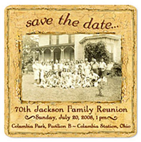 Any Occasion Custom Magnets Reunion Save The Date Templates