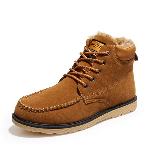 new winter snow boots top quality handmade ankle boots