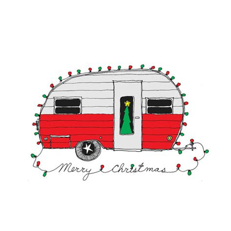 christmas jeep clip art items similar to christmas cer retro christmas card