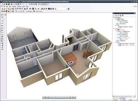 3D house design software program free download