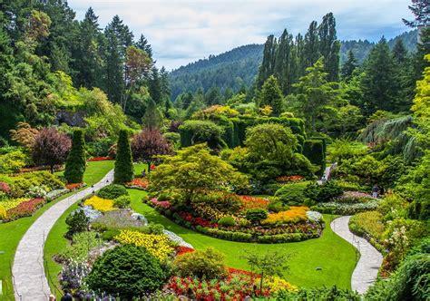 most beautiful flower gardens in canada butchart garden