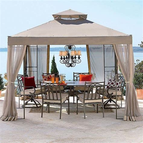 Outdoor Canopies And Gazebos Outdoor Oasis 2010 Gazebo Replacement Contemporary