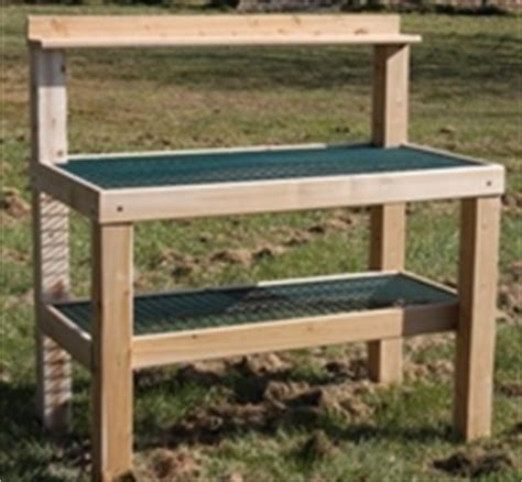potting bench on wheels potting table bench for gardeners with wheels made in the usa