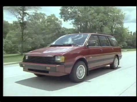 how cars run 1993 plymouth colt vista navigation system dodge colt vista youtube