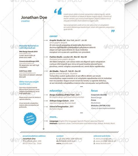 Resume Templates Minimalist Minimalist Resume Studio Design Gallery Best Design