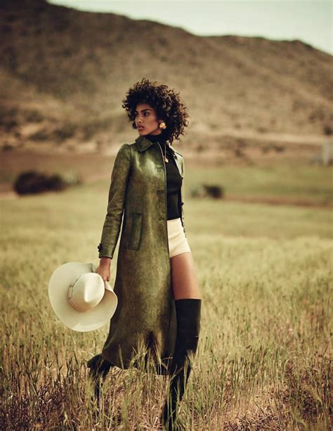 Vogue Spain July 2017 Imaan Hammam by Boo George   Fashion