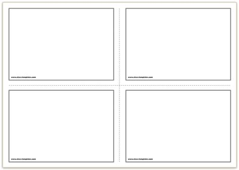 Card Frame Template 2x2 by Flash Card Template Word Printable Cards 2 215 2 Quintessence