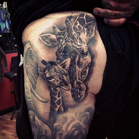 fernie andrade tattoo giraffe by fernie andrade ink