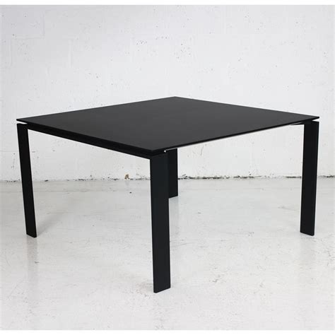 Black Meeting Table Black Meeting Table With Black Frame Black Table Square Table