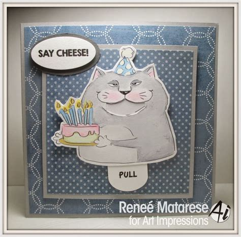 Big Handmade Cards - impressions rubber sts cat big sku 4565