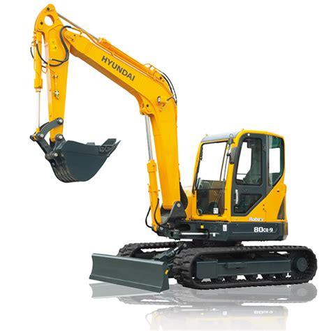 Alat Berat Hyundai Hyundai Excavators R80cr 9 Alat Berat