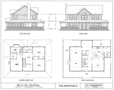 4 Bedroom Timber Frame House Plans by Post Beam House Plans And Timber Frame Drawing Packages
