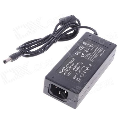 Adaptor 12v 5a suny power adapter for rc lithium battery charger black us free shipping dealextreme