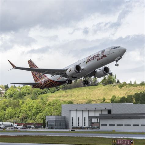 batik air head office boeing makes first 737 max delivery to malindo air geekwire