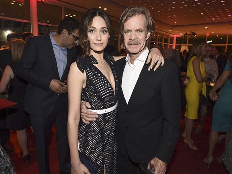 emmy rossum and william macy william h macy on defending emmy rossum s fight for equal