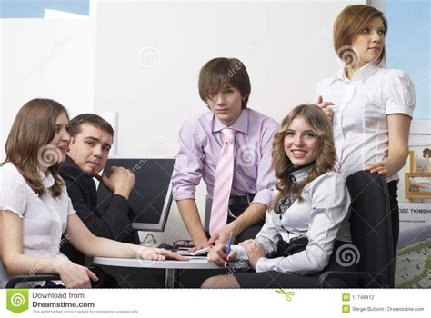 office team stock photography image 11748412