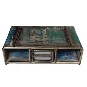 table basse industrielle sabah 1 tiroir pas cher en vente