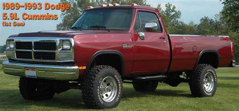 89 dodge cummins 1st dodge cummins 5 9l 89 93 diesel performance parts
