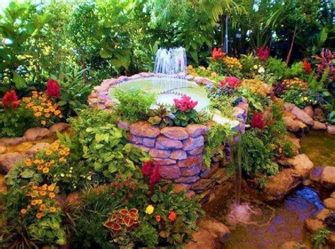 Beautiful Backyard Flower Gardens Beautiful Backyard Flower Gardens In