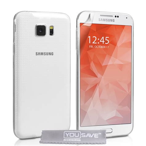 0 samsung s6 yousave samsung galaxy s6 0 6mm clear gel mobile