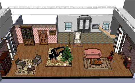 setting of a dolls house a doll s house play set design house interior
