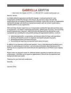Human Resources Administrator Cover Letter by Compensation And Benefits February 2015