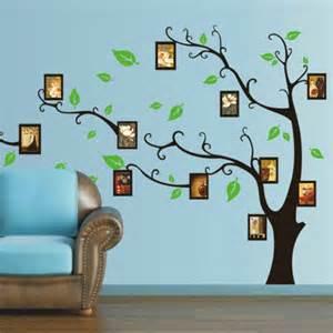 Buy Wall Stickers Online Aliexpress Com Buy Black Photo Tree Wall Sticker Photo