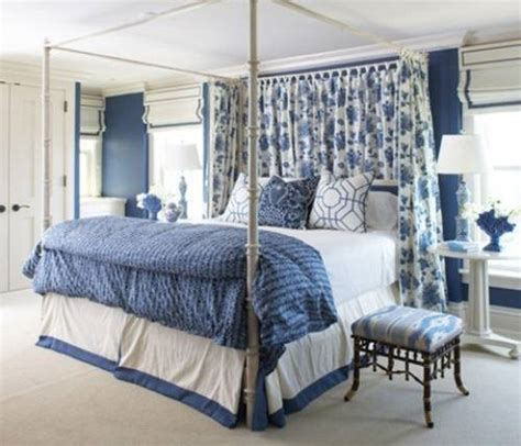 blue and white bedroom design the interior design
