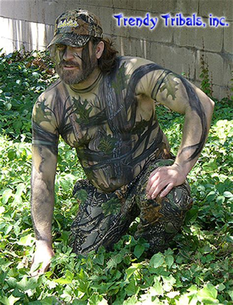 Full Body Camo Tattoo | body paint camouflage body paint body art pictures gallery