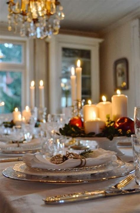 elegant christmas table christmas pinterest 34 gorgeous christmas tablescapes and centerpiece ideas