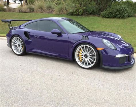 purple porsche 944 porsche 991 gt3 rs painted in ultraviolet purple w hre