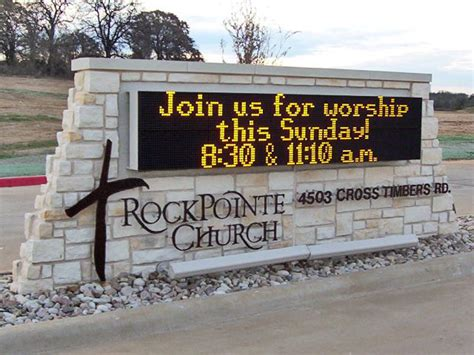 church advertising signs