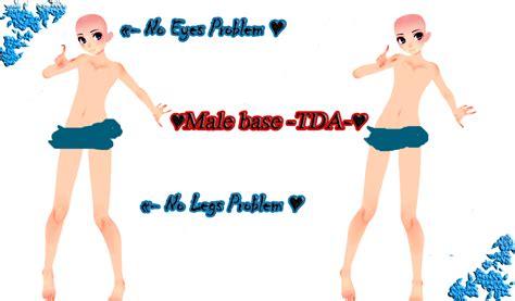 mmd tda male model pmx male base tda by asuka03hiraki on deviantart