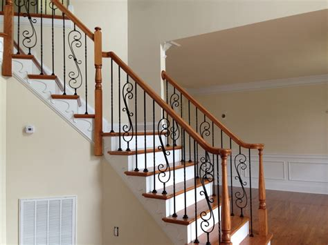 Iron Stairs Design Sketch Of Wrought Iron Stair Railings For Creating Awesome Looking Interior Interior Design