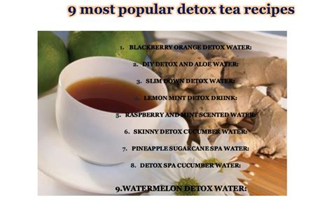 Black Tea Detox Recipe by Diet Tea Reviews And Ultimate Recipe Guide