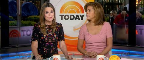 what products does hoda kotb use on her hair what matt lauer s former co hosts savannah guthrie and
