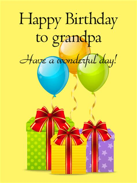 printable happy birthday cards for grandpa have a wonderful day happy birthday card for grandpa