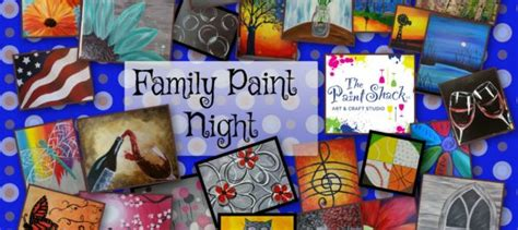 paint nite for families family paint ground the paint shack
