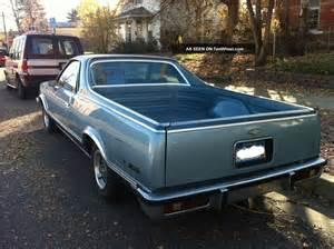 1978 chevrolet el camino 350 v8