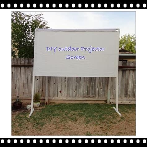 diy outdoor projection screen pin by blacka on mim make it myself