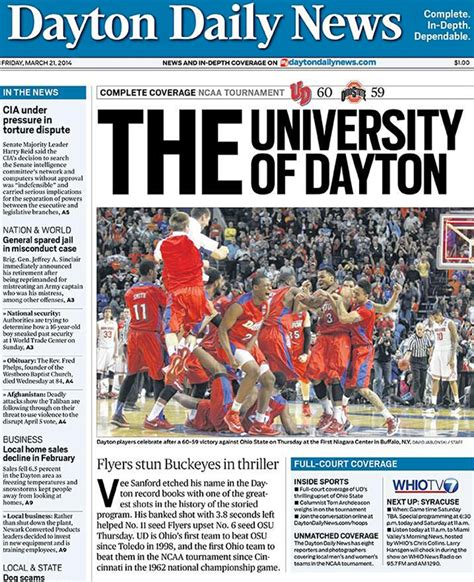 college newspaper dayton daily news mocks ohio state with the of