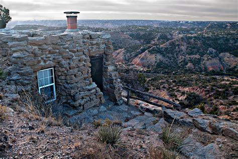 Cabins Palo Duro by Palo Duro State Park Lighthouse Cabin Parks Wildlife Department