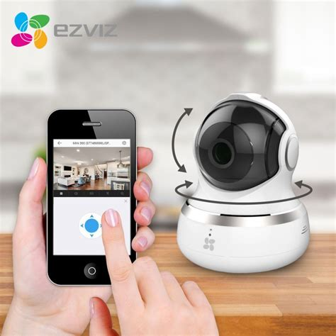 ezviz mini 360 hd 720p wifi wireless home security