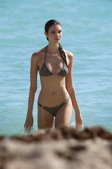 small petite pokies teresa moore tiny bikini on a beach in miami picx