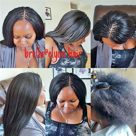 nigerian pick and drop hairstyle crochet braids with pick and drop on natural hair